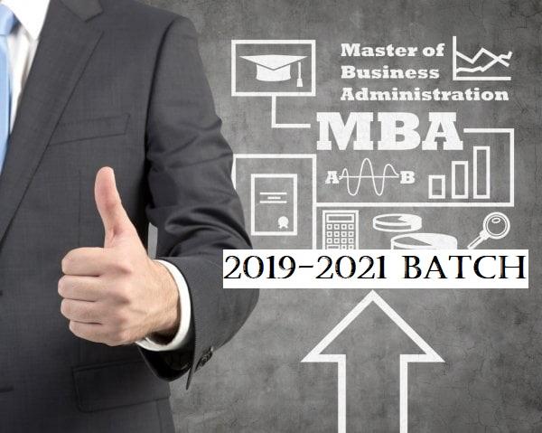 MBA-2019-'21