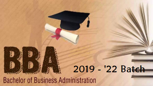 BBA - Batch 2019 - 2022
